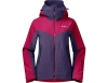 Дамско ски яке с изолация Bergans Oppdal Insulated Lady Jacket Beet Red/Purple Velvet