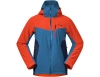 Мъжко ски яке с изолация Bergans Oppdal Insulated Jacket Lava / Stone Blue / Navy