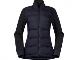 Bergans Oslo Down Hybrid Women Jacket Dark Navy 2020