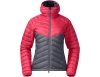 Дамско пухено яке Bergans Pyttegga Down W Jacket w/Hood Fire Red