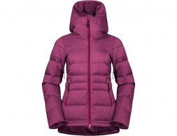 Bergans Stranda Down Hybrid W Jacket Beet Red