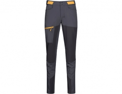 Дамски софтшел панталон Bergans Cecilie Mountain Softshell Pants Solid Dark Grey / Light Golden Yellow 2020