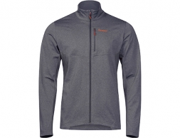 Мъжко поларено яке Bergans Fløyen Fleece Solid Dark Grey / Lava 2020