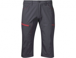 Bergans Moa Pirate Pants Solid Charcoal / Fire Red 2020