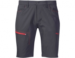 Bergans Moa Shorts Solid Charcoal / Fire Red 2020