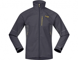 Мъжко софтшел яке Bergans Slingsby LT Softshell Solid Charcoal / Waxed Yellow 2020