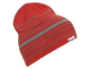 Шапка Bergans Striped Beanie Red Sand / Light Forest Frost 2021
