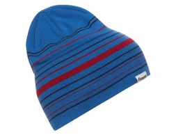 Шапка Bergans Striped Beanie Strong Blue / Red 2022