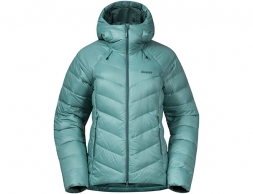 Дамско пухено яке Bergans Cecilie V3 Down Jacket Light Forest Frost 2021