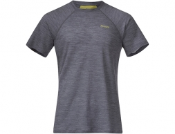 Bergans Fløyen Wool Tee Solid Dark Grey 2021