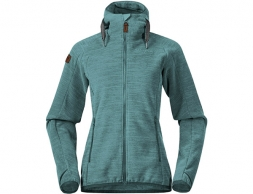 Дамско поларено яке Bergans Hareid Fleece W Jacket Forest Frost 2021