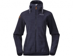 Дамско поларено яке Bergans Hareid Fleece W Jacket Dark Navy Melange 2021