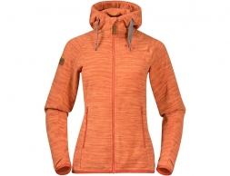 Bergans Hareid Fleece W Jacket Brick Melange 2021