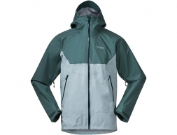 Мъжко хардшел яке Bergans Letto V2 3L Jacket Misty Forest / Forest Frost 2021