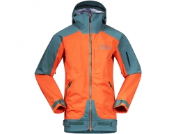 Bergans Myrkdalen V2 Insulated Ski Jacket Bright Magma / Forest Frost 2021