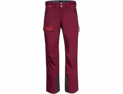 Дамски ски панталон Bergans Myrkdalen V2 Insulated W Pants Beet Red 2021