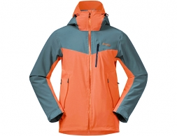 Bergans Oppdal Insulated Ski Jacket Bright Magma / Forest Frost 2021