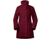Дамско вълнено палто Bergans Oslo Wool Loose Fit W Jacket Zinfandel Red 2021