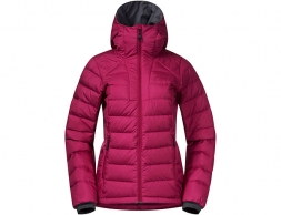 Дамско пухено яке Bergans Røros Down Hybrid W Jacket Beet Red 2021