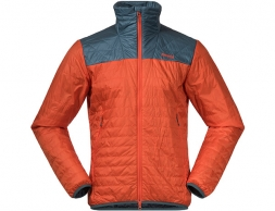 Мъжко яке с изолация Bergans Røros Light Insulated Jacket Bright Magma 2021
