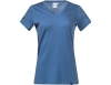 Bergans Bloom Wool Lady Tee Riviera Blue 2021