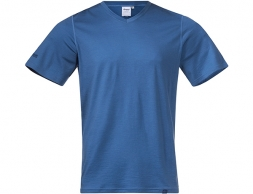 Bergans Bloom Wool Tee Riviera Blue 2021