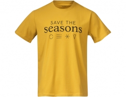 Bergans Graphic Tee Mustard Yellow 2021