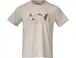 Bergans Graphic Tee Chalk Sand 2021