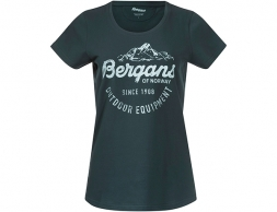 Bergans Classic W Tee Dark Forest Frost 2021