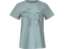 Bergans Graphic W Tee Misty Forest 2021