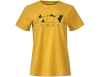 Дамска тениска Bergans Graphic W Tee Mustard Yellow 2021
