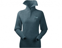 Bergans Ulriken Lady Merino Wool Jumper Forest Frost 2021