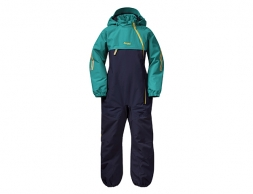 Детска грейка Bergans Lilletind Insulated Kids Coverall Navy / Greenlake 2021