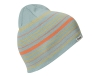 Детска шапка Bergans Striped Youth Beanie Misty Forest / Cantaloupe 2022