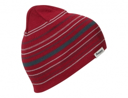 Детска шапка Bergans Striped Youth Beanie Red / Orion Blue 2022