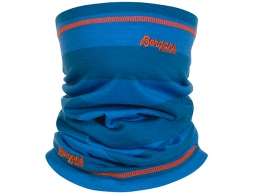 Мерино шал-лента Bergans Fjellrapp Neck Warmer Ocean Strip