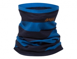 Детски мерино шал-лента Bergans Fjellrapp Kids Neck Warmer Navy Athens Blue