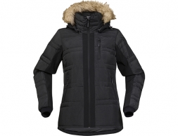 Дамско пухено яке Bergans Bodø Down Lady Jacket Black