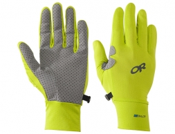 Ръкавици за туризъм и спорт Outdoor Research ActiveIce Chroma Full Sun Gloves Lemongrass