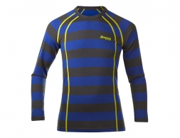 Детска термо блуза Bergans Fjellrapp Youth Shirt Cobalt