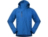 Мъжко хардшел яке Bergans Flya Insulated Jacket Athens Blue 2019