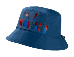 Детска шапка с периферия Jack Wolfskin Supplex Magic Forest Hat Kids Ocean
