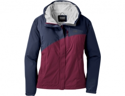 Дамско хардшел яке Outdoor Research Panorama Point Jacket Naval Blue Garnet