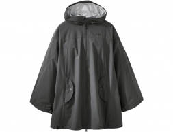 Дамско хардшел пончо Outdoor Research Panorama Point Poncho Charcoal