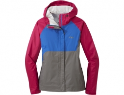 Дамско хардшел яке Outdoor Research Apollo Jacket Sangria Multi 2019