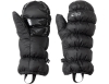 Пухени ръкавици лапи Outdoor Research Transcendent Down Mitts Black