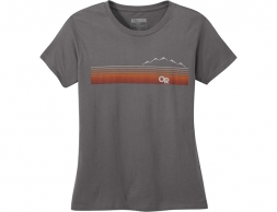 Дамска тениска Outdoor Research Ally Tee Charcoal 2020