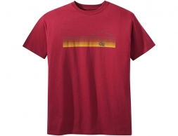 Мъжка тениска Outdoor Research Ally Tee Retro Red 2020