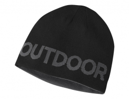 Двулицева шапка Outdoor Research Booster Beanie Black/ Charcoal 2020