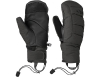Пухени ръкавици лапи за ски Outdoor Research Stormbound Mitts Black